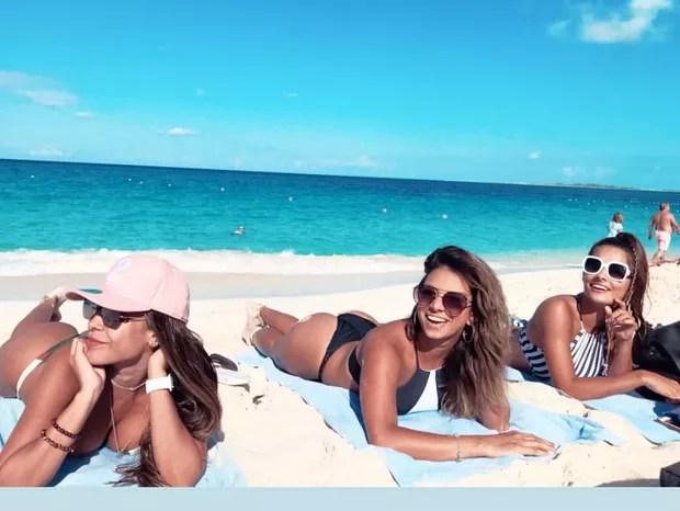 Tatiana Scarletti, Tainá Grando e Yanca Guimarães (Foto: Reprodução/Instagram)