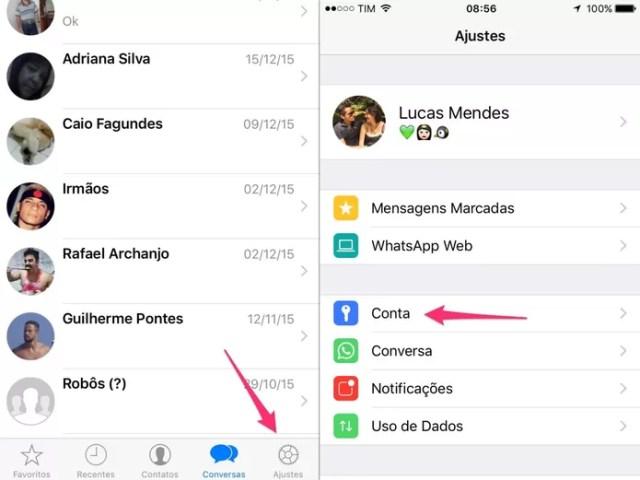 Como descobrir se a conta do WhatsApp já está de graça no celular