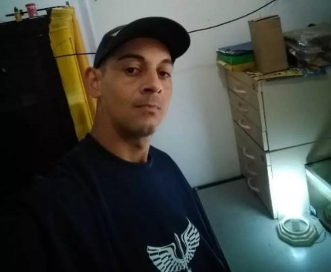Vendedor foi sequestrado após assistir a partida de futebol em Guarujá, SP — Foto: Arquivo Pessoal