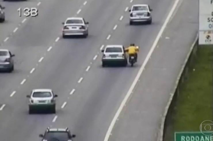 Imprudência faz aumentar número de acidentes nas rodovias (Foto: Reprodução/TV TEM )