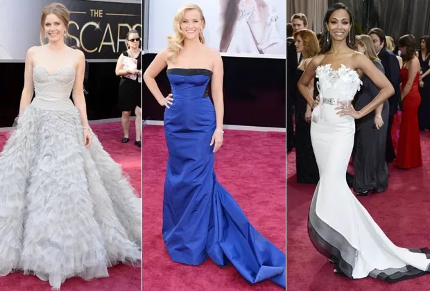 AMY ADAMS, REESE WHITERSPOON E ZOE SALDANA (Foto: Getty Images)