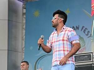 Show da banda Xote com Pimenta deu continuidade ao evento (Foto: Marcos Dantas/G1)