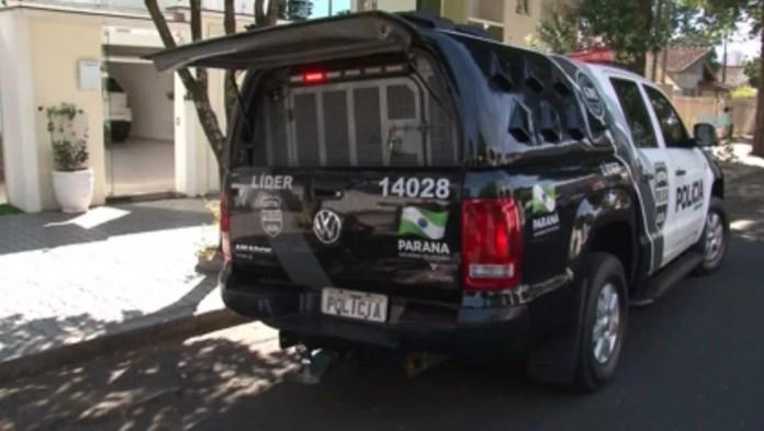 Polícia Civil do DF prendeu, em Umuarama, suspeito de desviar dinheiro de milhares de contas bancárias do país (Foto: Reprodução/RPC)