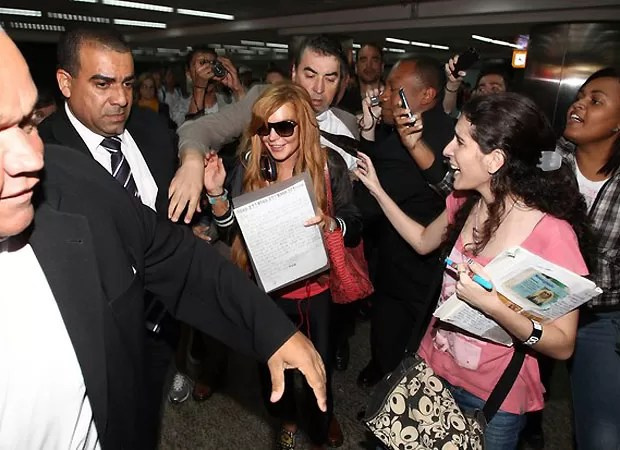 Lindsay Lohan (Foto: Foto Rio News)