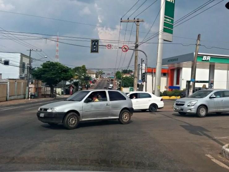 Capital acreana e outras dez cidades e duas vilas do Acre ficaram sem energia nesta segunda (31) — Foto: Yuri Marcel/G1/Arquivo