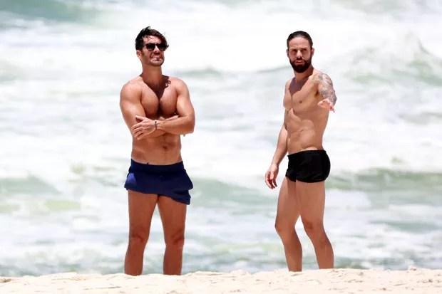 Marcos Pitombo e Rafael de Oliveira (Foto: Dilson Silva/AgNews)