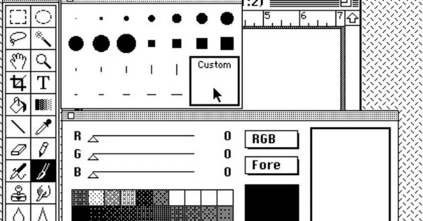 Adobe libera o código fonte do Photoshop original, de 1990