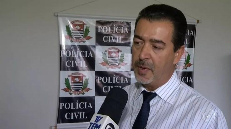 Delegado acredita que houve falha no sistema de segurança do banco (Foto: TV TEM/Reprodução)