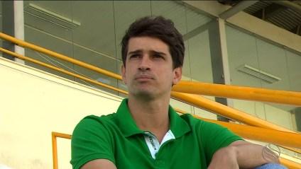Gabriel Lisboa é o novo técnico do Fla de Arcoverde (Foto: Reprodução/TV Sergipe)