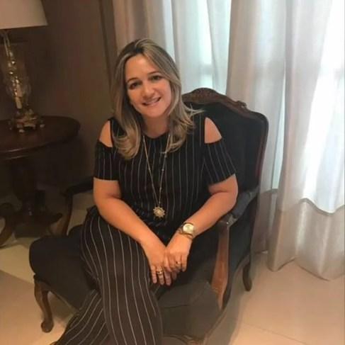 Milene Falcão Eubank foi resgatada no dia 18 de novembro (Foto: Arquivo Pessoal)