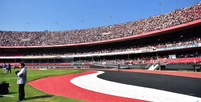 Morumbi São Paulo x Chapecoense (Foto: Marcos Ribolli)