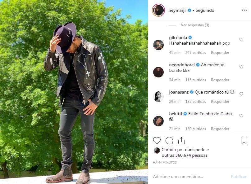 Neymar Jr. (Foto: Reprodução: Instagram)