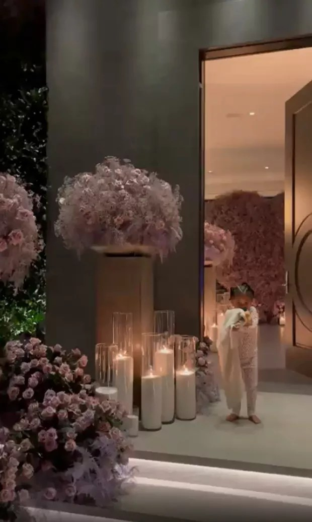 Kylie Jenner shows off ostentatious décor for Father's Day celebration (Photo: Reproduction/Instagram)