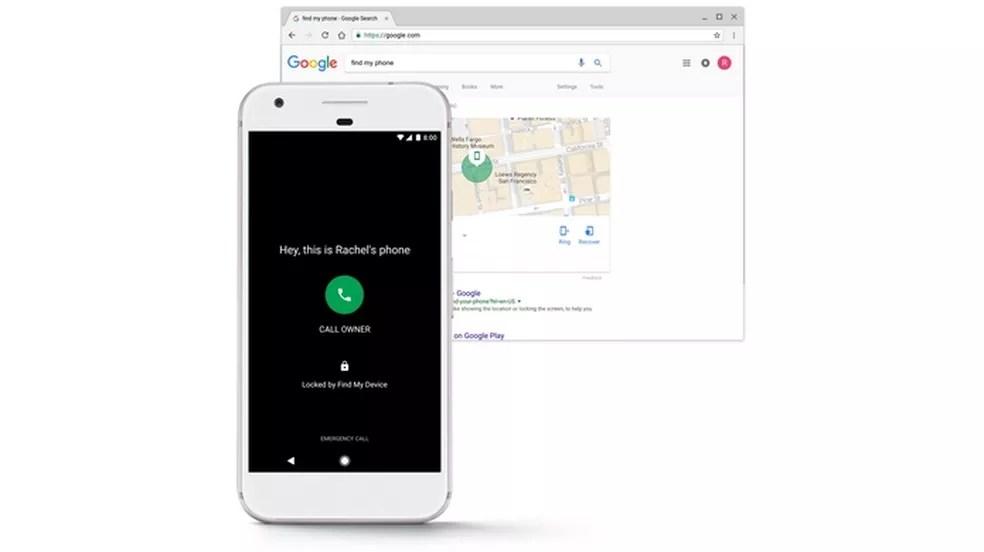 Find My Device, app que substitui o Android Device Manager, é alimentado pelo Play Protect  (Foto: Divulgação/Google)