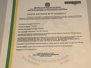 Pesquisadora conquistou seis patentes pela área de química (Foto: Marlon Tavoni/EPTV)