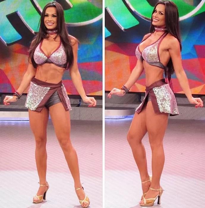 Fernanda D'avila é uma das estrelas do Balé do Faustão (Foto: Arquivo Pessoal)