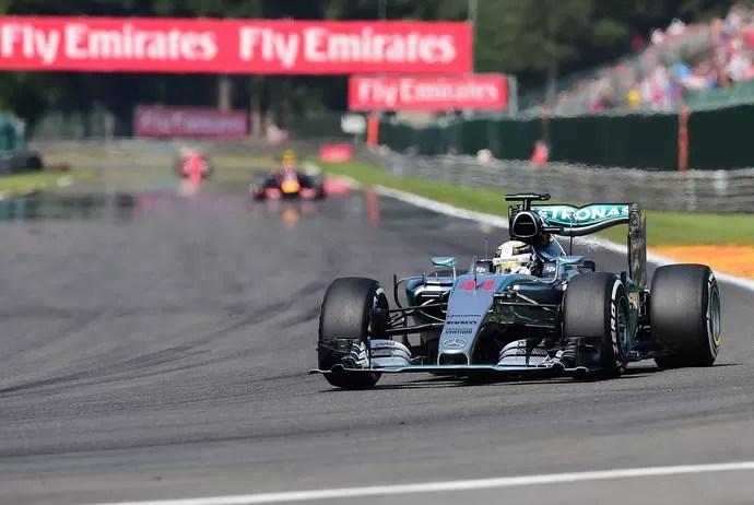 Lewis Hamilton GP da Bélgica Fórmula 1 (Foto: AFP)