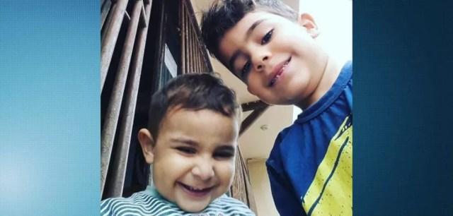 Irmãos morreram carbonizados em incêndio em Linhares, no Espírito Santo (Foto: Reprodução/ TV Gazeta)