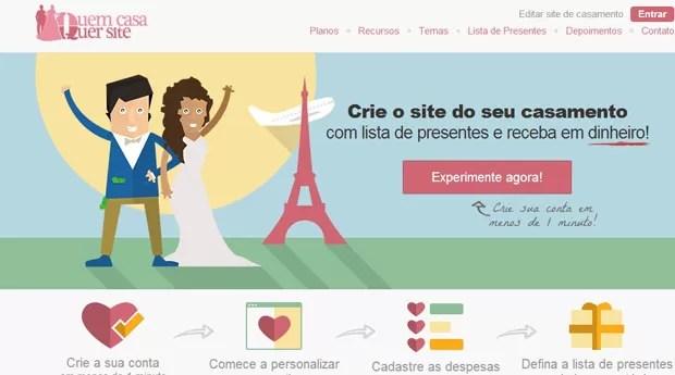 Dionatan Boeger teve a ideia para o site após uma experiência própria de organizar seu casamento (Foto: Divulgação)