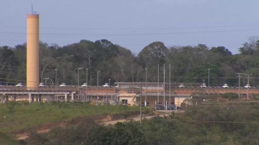 Complexo Penitenciário no bairro Xuri, em Vila Velha