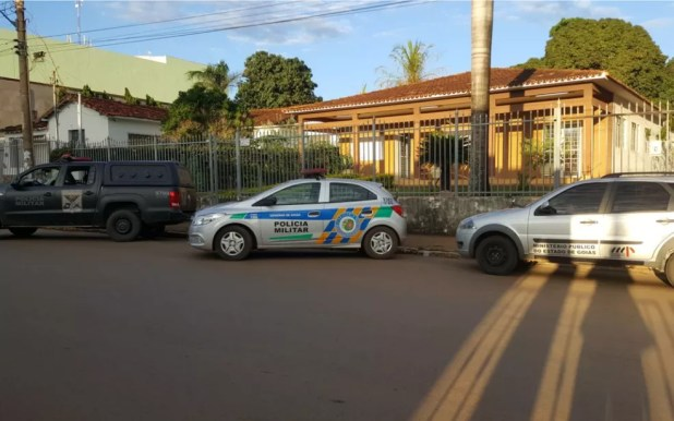 Ministério Público de Goiás cumpre mandados na Igreja Católica em três cidades (Foto: MP-GO/Divulgação)