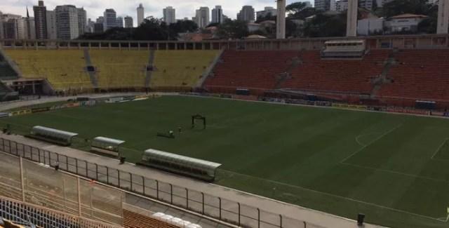 Pacaembu São Paulo x Palmeiras (Foto: Rodrigo Faber)