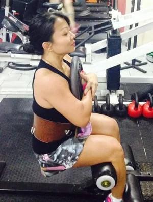 Leticia Mayumi Eu Atleta Prudente (Foto: Leticia Mayumi / Cedida)