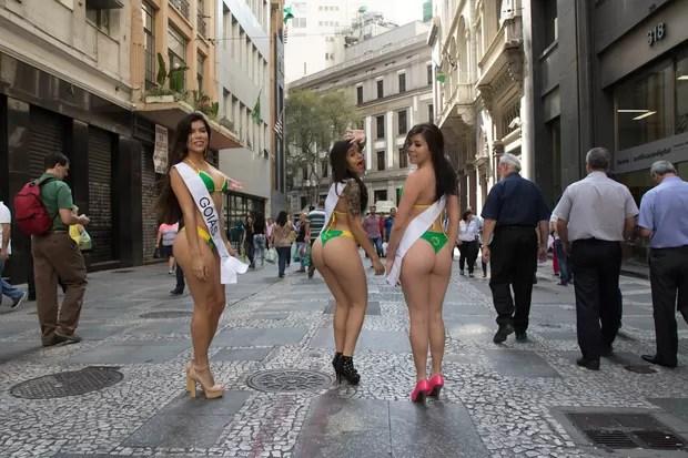 Candidatas a Miss Bumbum (Foto: Marcelo Brammer / Studio Brammer )
