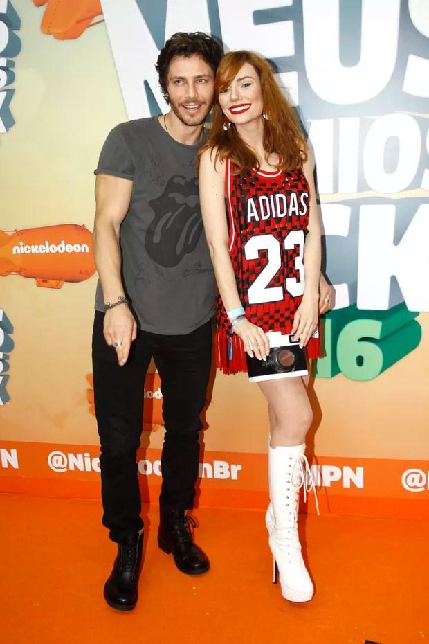 André Bankoff e Maria Eugênia Suconic (Foto: Celso Tavares / Ego)
