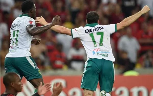 Boselli Flamengo x León (Foto: AFP)