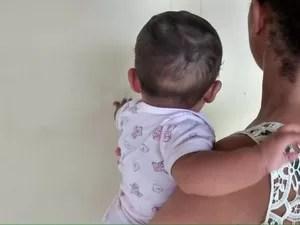 Bebê que teria sido negociado quando era gerado, está com 7 meses  (Foto: Divulgação/Polícia Civil)