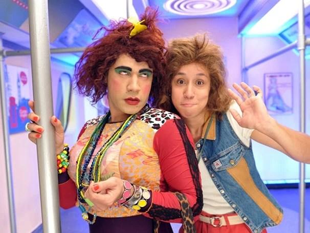 Valéria e Janete  (Foto: Divulgação/TV Globo)