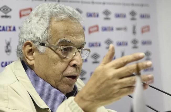 Eurico Miranda Coletiva Vasco (Foto: Paulo Fernandes / Vasco.com.br)