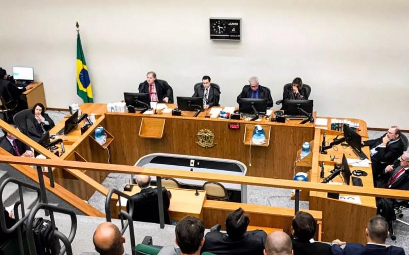 Sexta Turma do Superior Tribunal de Justiça (STJ) analisa pedidos de habeas corpus do médium João de Deus — Foto: John William/TV Anhanguera