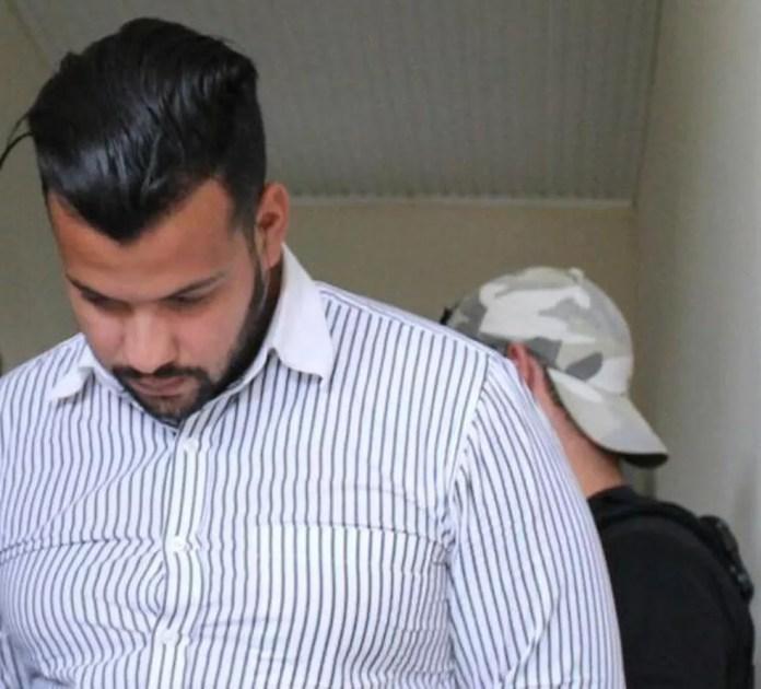 Manoel Elivaldo foi preso pela segunda vez no último dia 22 de abril na Delegacia da Mulher — Foto: Divulgação/Polícia Civil