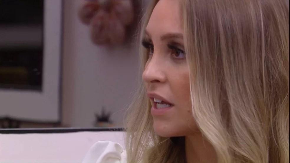 Carla Diaz comenta sobre Thaís e Viih Tube no BBB21: 'Me evitaram várias vezes'  — Foto: Globo