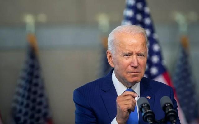 Joe Biden caracterizou Trump como um 'piromaníaco climático' — Foto: Reuters/Mark Makela