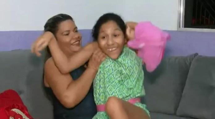 Lúcia diz que precisou se reinventar, mas que sem a filha não seria metade da mulher que é hoje (Foto: Reprodução/Rede Amazônica Acre)