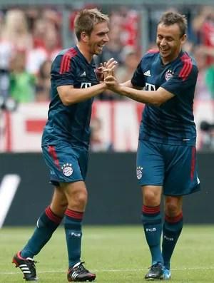 lahm Bayern Munique x barcelona (Foto: AP)