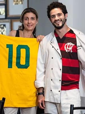 Vinícius de Oliveira e Mary Nigri (Foto: Fred Chalub)