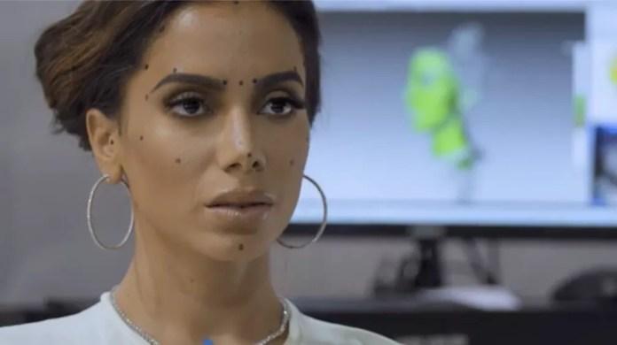Anitta faz molde digital para ganhar estátua em museu de cera — Foto: Divulgação