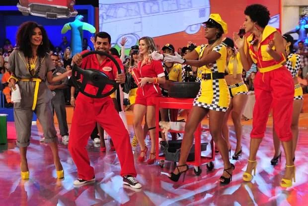 Esquenta celebra o amor do brasileiro por carros (Foto: Divulgação / Rede Globo)