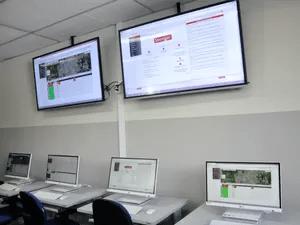 Centro de monitoramento vai funcionar na Sesp-MT (Foto: Carolina Holland/G1)