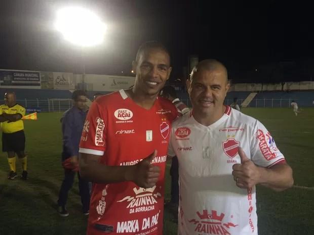 Partida foi liderada por Fernando Reges e Roni, em Goiás (Foto: Murillo Velasco/G1)