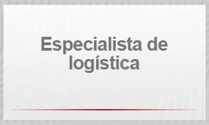 Especialista de logística (Foto: G1)