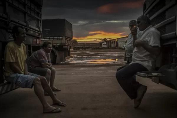 Fotografia do ensaio Estrada de graãos, vencedora do prêmio da Sony (Foto: Ricardo Teles)