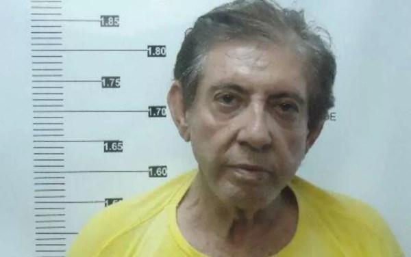 João de Deus está preso desde dezembro em Aparecida de Goiânia — Foto: Reprodução/TV Anhanguera