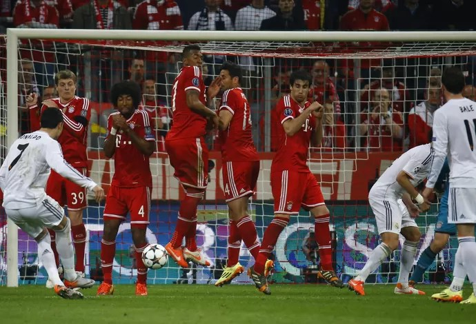 Cristiano Ronaldo Bayern de Munique x Real Madrid (Foto: Reuters)