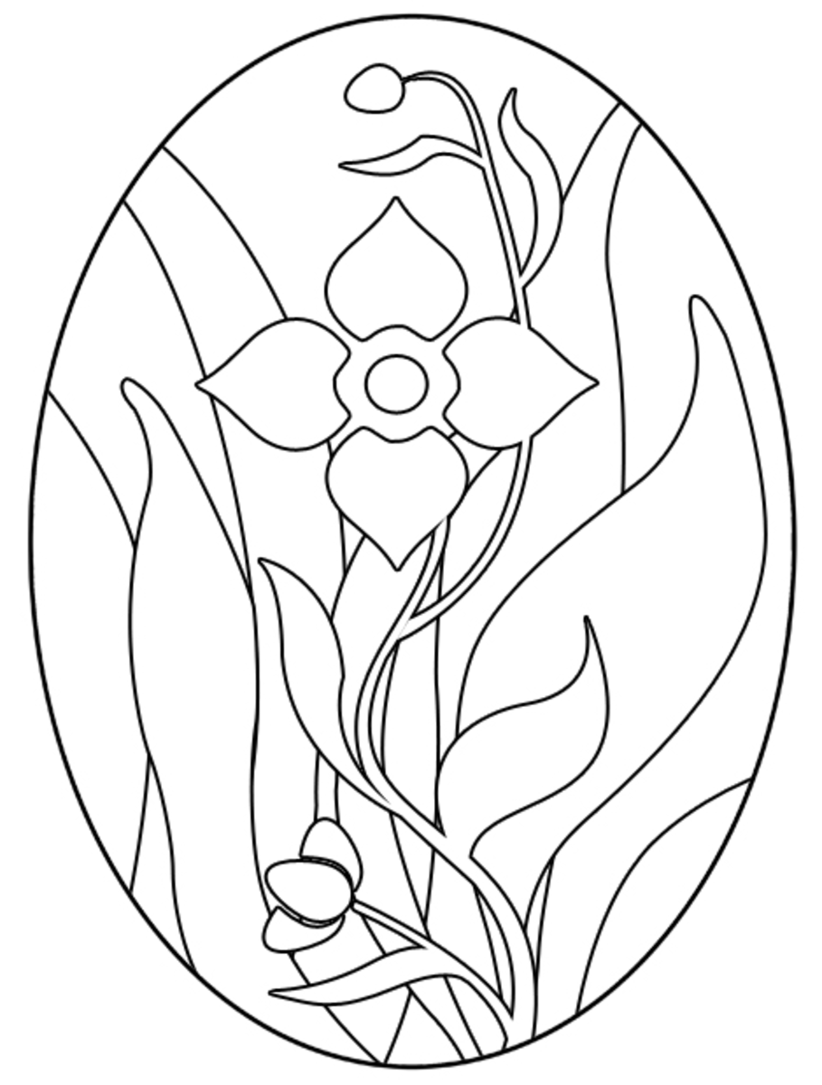 Free Easter Egg Coloring Pages