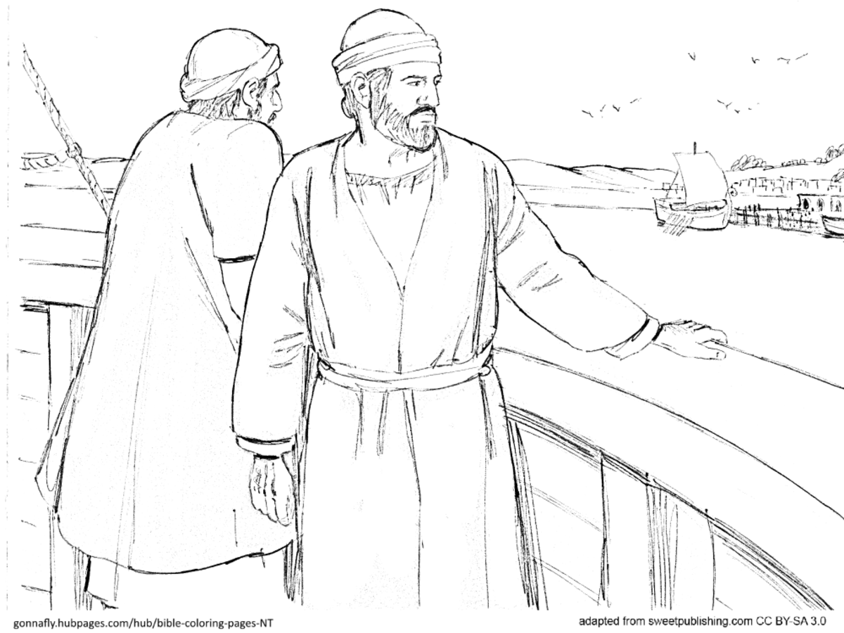 Peter S Vision And Cornelius Coloring Page Sketch Coloring